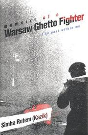 Book Cover for MEMOIRS OF A WARSAW GHETTO FIGHTER