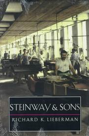 Book Cover for STEINWAY AND SONS
