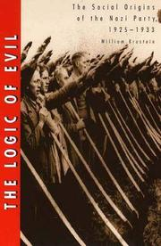 THE LOGIC OF EVIL by William Brustein