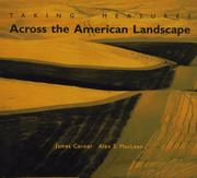 TAKING MEASURES ACROSS THE AMERICAN LANDSCAPE by James Corner
