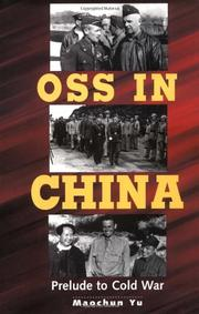 OSS IN CHINA by Maochun Yu