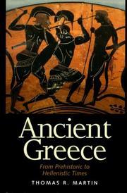 ANCIENT GREECE by Thomas R. Martin