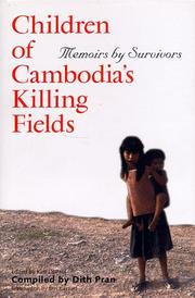 Book Cover for CHILDREN OF CAMBODIA'S KILLING FIELDS