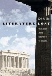 Cover art for LITERATURE LOST