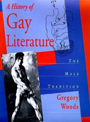 Cover art for A HISTORY OF GAY LITERATURE
