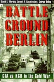 Book Cover for BATTLEGROUND BERLIN