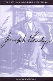 JOSEPH LEIDY by Leonard Warren