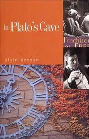 IN PLATO'S CAVE by Alvin Kernan