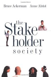 Book Cover for THE STAKEHOLDER SOCIETY