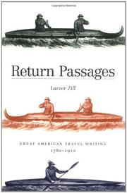 RETURN PASSAGES by Larzer Ziff