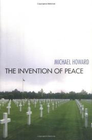 Cover art for THE INVENTION OF PEACE