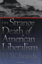 Cover art for THE STRANGE DEATH OF AMERICAN LIBERALISM