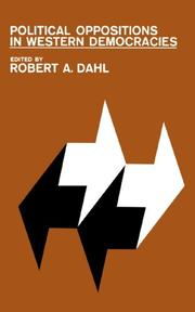 POLITICAL OPPOSITIONS IN WESTERN DEMOCRACIES by Robert A. Dahl