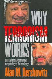 Cover art for WHY TERRORISM WORKS