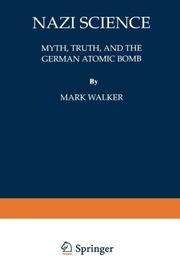 NAZI SCIENCE by Mark Walker