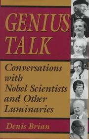 Book Cover for GENIUS TALK