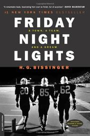Cover art for FRIDAY NIGHT LIGHTS: A Town, a Team, and a Dream