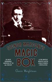 Cover art for SIGNOR MARCONI'S MAGIC BOX
