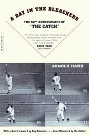 A DAY IN THE BLEACHERS by Arnold Hano