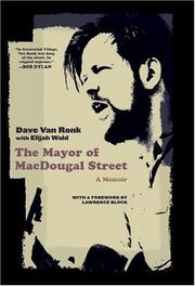 Cover art for THE MAYOR OF MACDOUGAL STREET