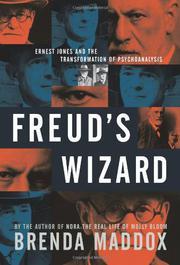 FREUD'S WIZARD by Brenda Maddox