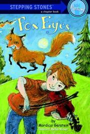 FOX EYES by Mordicai Gerstein