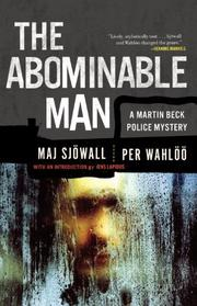 THE ABOMINABLE MAN by Per Wahlöö