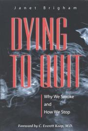 DYING TO QUIT by Janet Brigham