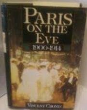 PARIS ON THE EVE by Vincent Cronin