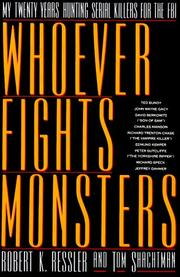 Book Cover for 'WHOEVER FIGHTS MONSTERS...'