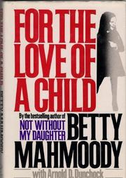 Cover art for FOR THE LOVE OF A CHILD