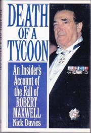DEATH OF A TYCOON by Nicholas Davies