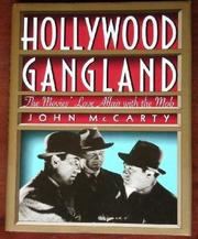 HOLLYWOOD GANGLAND by John McCarty