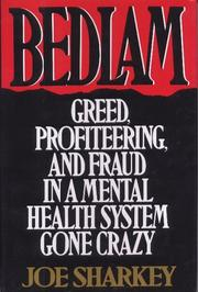 Cover art for BEDLAM