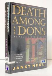 DEATH AMONG THE DONS by Janet Neel