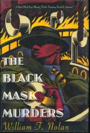 THE BLACK MASK MURDERS by William F. Nolan