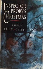 INSPECTOR PROBY'S CHRISTMAS by John Gano