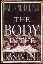 THE BODY IN THE BASEMENT by Katherine Hall Page