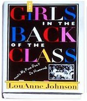 Cover art for THE GIRLS IN THE BACK OF THE CLASS