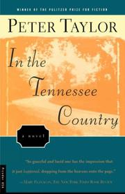 IN THE TENNESSEE COUNTRY by Peter Taylor