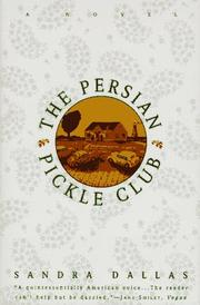 Cover art for THE PERSIAN PICKLE CLUB