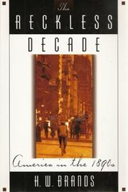 Book Cover for THE RECKLESS DECADE