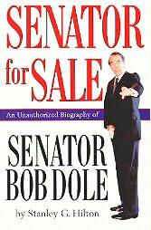 SENATOR FOR SALE by Stanley G. Hilton