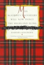 MISS MCKIRDY'S DAUGHTERS WILL NOW DANCE THE HIGHLAND FLING by Barbara Kinghorn