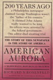 Book Cover for AMERICAN AURORA