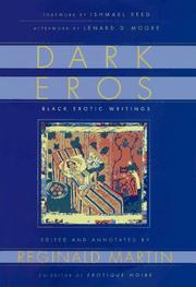DARK EROS by Reginald Martin