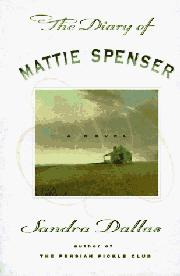 Cover art for THE DIARY OF MATTIE SPENSER