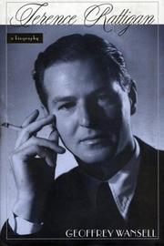 TERENCE RATTIGAN by Geoffrey Wansell