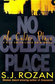Cover art for NO COLDER PLACE