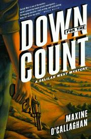 DOWN FOR THE COUNT by Maxine O'Callaghan